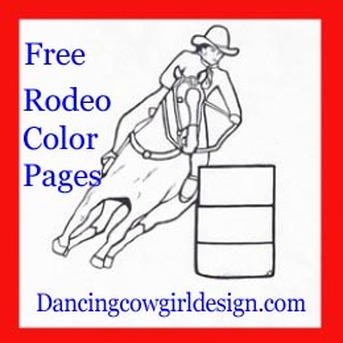 Rodeo Coloring Pages Free Printables