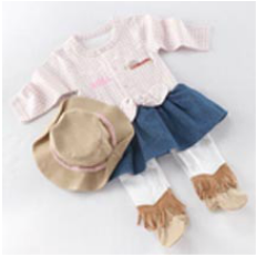 baby cowgirl outfit