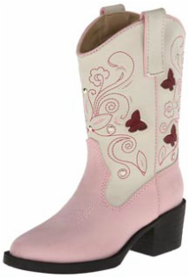 pink cowgirl cowboy boots