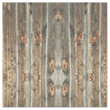 barn wood print fabric