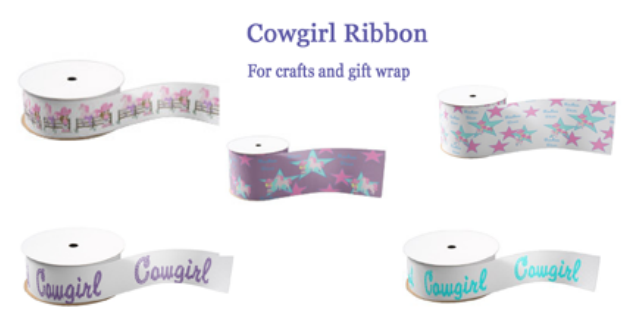 cowgirl craft ribbon