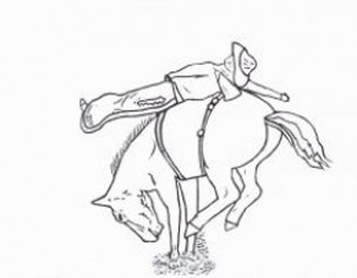 Rodeo Coloring Pages Free Printables Cowboys And Cowgirls