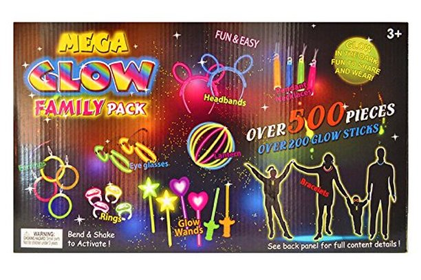 glow stick family pack party pack
