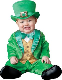 Leprechaun costume for baby
