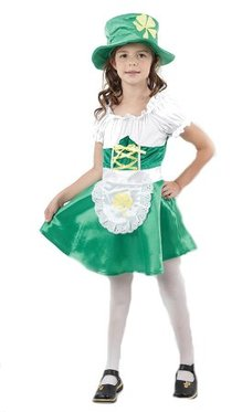 girls leprechaun costume