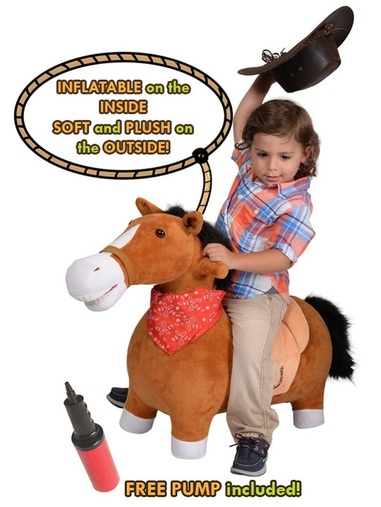 horse toy ride on