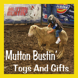 mutton busting toys
