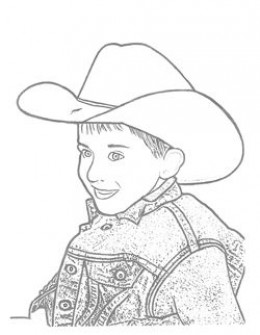 Western Coloring Pages Free Printables Cowboys Cowgirls Horses Wagons Dancing