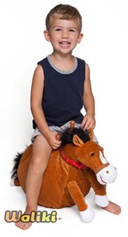 boucy ball horse toy