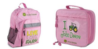Pink John Deer Backpack