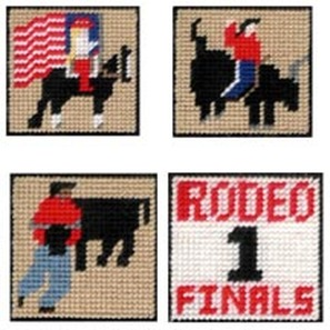 plastic canvas cowboy and cowgirl patterns