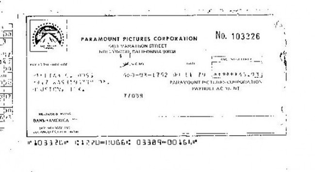 Urban Cowboy Paycheck For Movie Extra