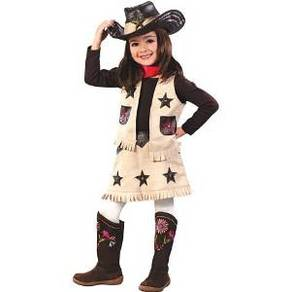 cowgirl sheriff costume set