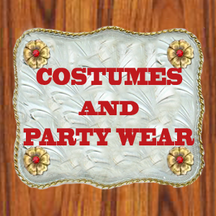 costume and party wear DANCING COWGIRL DESIGN