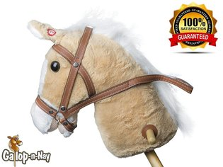 stick horse with sound