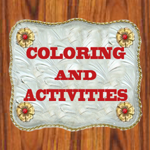 Coloring And Activities BY DANCING COWGIRL DESIGN