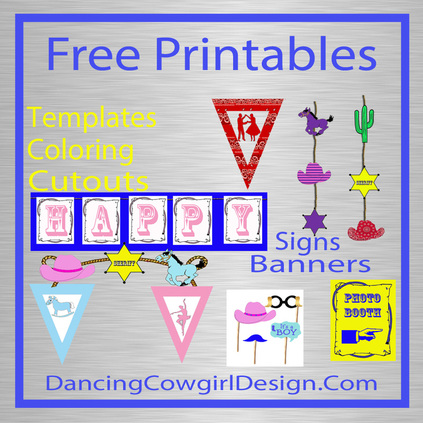 free printables at dancing cowgirl design