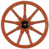 wagon wheel decoration