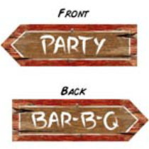 western party sign