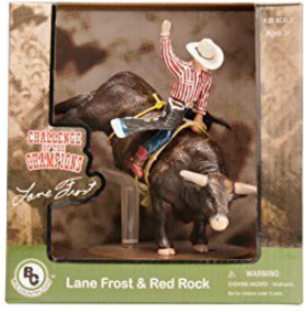 Lane Frost bull riding collectible toy