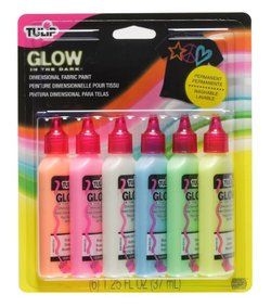 glow in the dark fabric paint