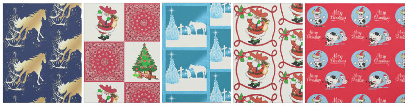 country Christmas holiday fabric