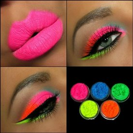 neon eye shadow kit