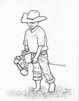 17 Best Cowboy Coloring Pages for Kids - Updated 2018 | 334x260