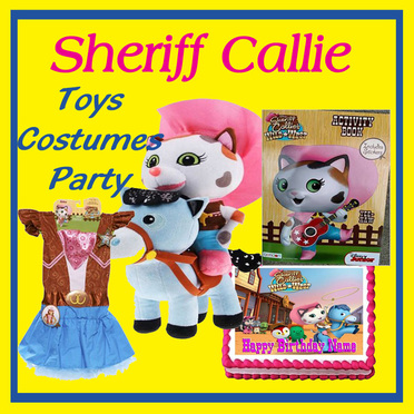 Sheriff Callie Toys costumes party