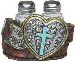 western salt and pepper shakers