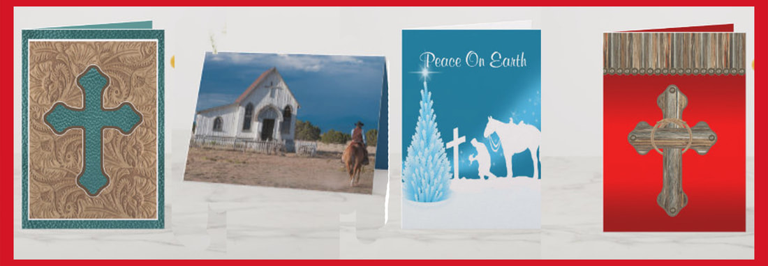 Western Christmas Cards