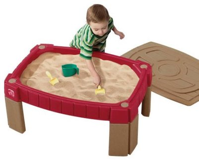 sand box table