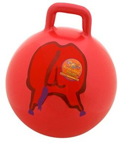 bouncing bull toy