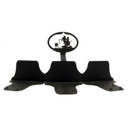 calf roping buckle stand