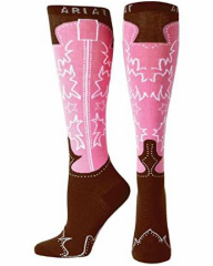 cowboy boot socks for women