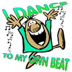 dance to my own beat t-shirt