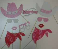 cowgirl party photo props