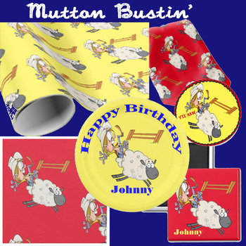 mutton bustin party