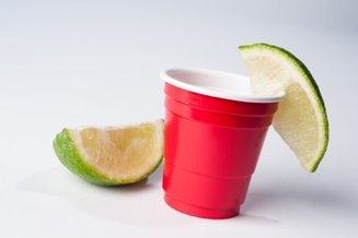 mini red solo cup