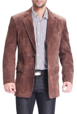 men's suede jacket