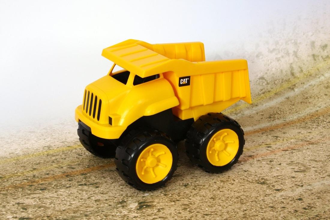 Tonka Construction Toys For Boys : Tonka piece mighty builders tow n go tuff truck block play set