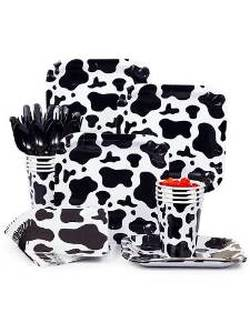 cow print party