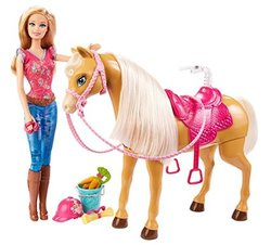 Barbie horse toy