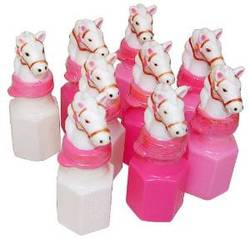 horse head party bubbles