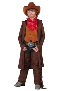 western duster costume boy