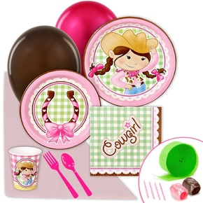 cowgirl birthday party supplies