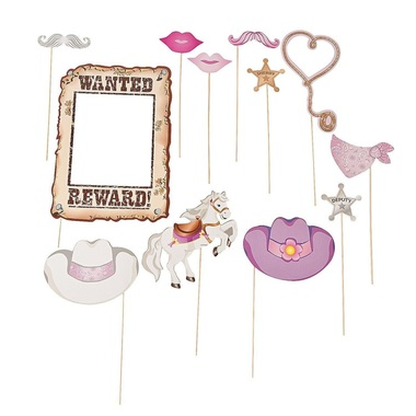 cowgirl party photo booth props