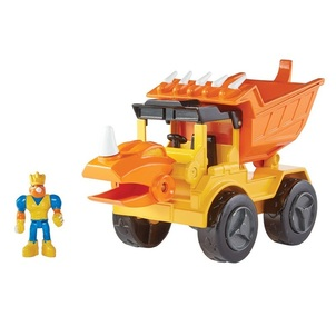 dino construction toy dump truck