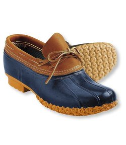 L.L. Bean womens rubber moc