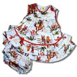 western outfit for baby or toddler cowgirl